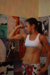 Girl with muscle - zhanna