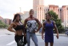 Girl with muscle - Wendy McMaster (L), Zoa Linsey (C)