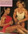 Girl with muscle - Lenda Murray / Laura Creavalle