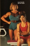 Girl with muscle - Laura Creavalle / Irma Vargas
