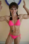 Girl with muscle - Ann Bernard