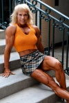 Girl with muscle - Janet Kaufman