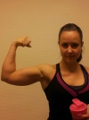 Girl with muscle - amanda
