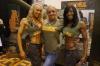 Girl with muscle - Claire Harper (L), Nyisha Jordan (R)