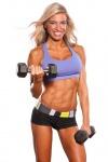 Girl with muscle - debra milano granito