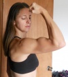 Girl with muscle - Margaret Matuszak