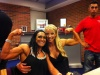 Girl with muscle - Eleonore Eriksson (L) - Mikaela Strand (R)