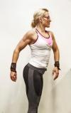 Girl with muscle - Heli Hampinen