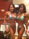 Girl with muscle - Erin Stern (L) - Catherine Holland (R)