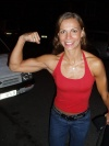 Girl with muscle - Patricia Bagu