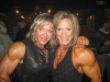 Girl with muscle - Lisa Aukland (L) - Jeannie Paparone (R)