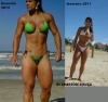 Girl with muscle - Franciely Petersen