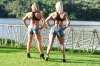Girl with muscle - Kaprice Goncalves (L) - Sheila Vieira (R)