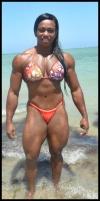 Girl with muscle - Maria Aparecida Bradley