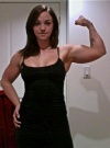 Girl with muscle - Heather Clancy