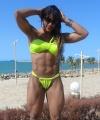 Girl with muscle - Janaina Barros