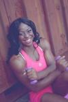 Girl with muscle - Sheronica Henton