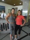 Girl with muscle - Gilberia Cunha (L) - Mirian Fernandes (R)