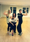 Girl with muscle - Ida Markussen (l), Julie, Ronja