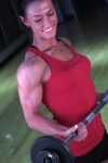 Girl with muscle - Natalie Juron