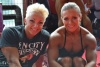 Girl with muscle - Nataliya Romashko and Olga Belyakova