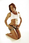 Girl with muscle - Phaedra Dunaway-White