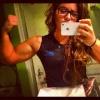 Girl with muscle - Amelia Wall