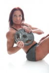 Girl with muscle - Phaedra Dunaway-White