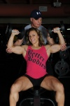 Girl with muscle - Rene Marven