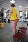 Girl with muscle - nika