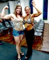 Girl with muscle - Geisi Silva / Daniele Vieira