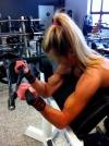 Girl with muscle - Maikku Hiljanen
