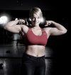 Girl with muscle - kristin