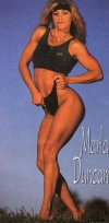 Girl with muscle - Marla Duncan