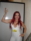 Girl with muscle - Red Sonja