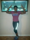 Girl with muscle - Lequida Owens Sanders