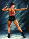 Girl with muscle - Tanya Merryman