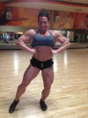 Girl with muscle - Anne Sheehan Dudash