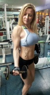 Girl with muscle - Marina