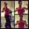 Girl with muscle - linnea davis
