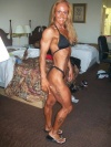 Girl with muscle - Candida Walton