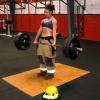 Girl with muscle - Tara Ross xfit