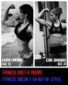 Girl with muscle - Laura London / Erin Simmons