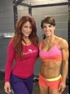 Girl with muscle - Nancy Di Nino (L) - Helen Coutts (R)