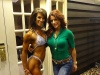Girl with muscle - Helen Coutts (L) - Nancy Di Nino (R)