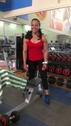 Girl with muscle - Leidy Hernandez