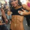 Girl with muscle - kayla
