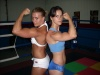 Girl with muscle - V ''The Cheerleader'' + Cathy  (wrestlers)