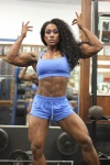 Girl with muscle - Glenese A. Markes
