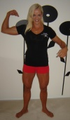 Girl with muscle - alexandra